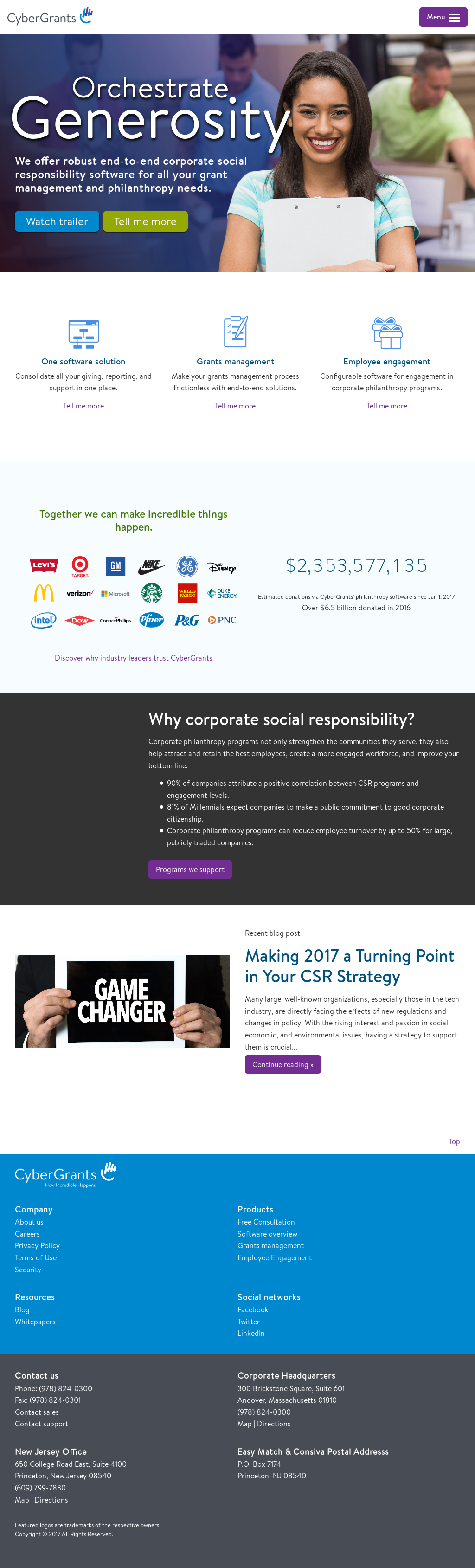 CyberGrants Competitors, Revenue and Employees - Owler