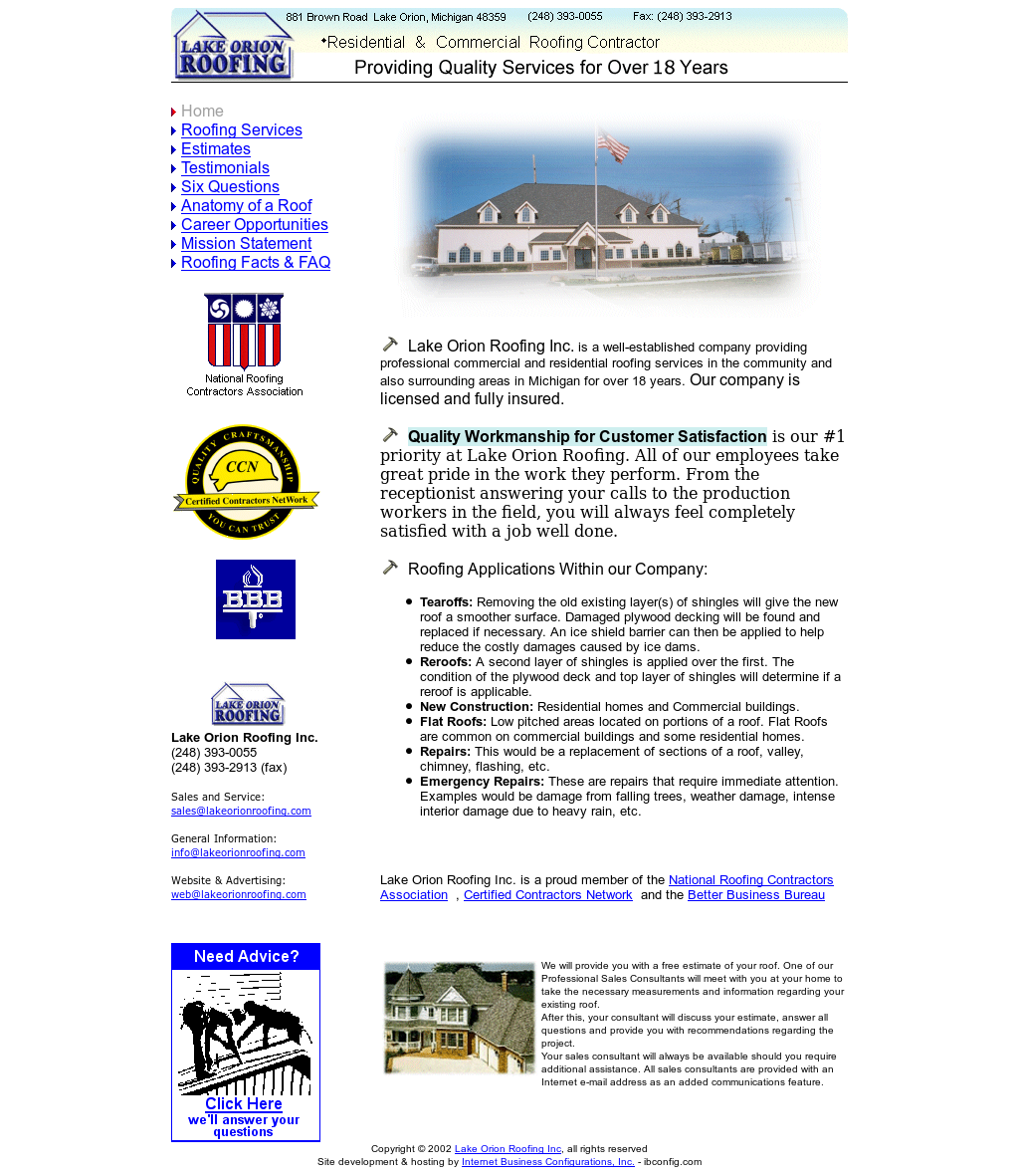 Lake Orion Roofing Competitors, Revenue and Employees - Owler ...