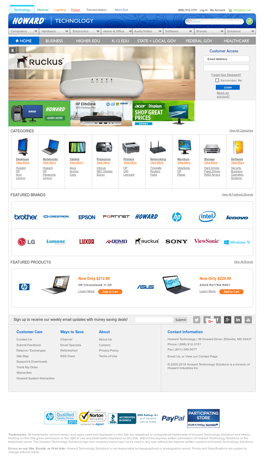 Howardcomputers Competitors, Revenue and Employees - Owler