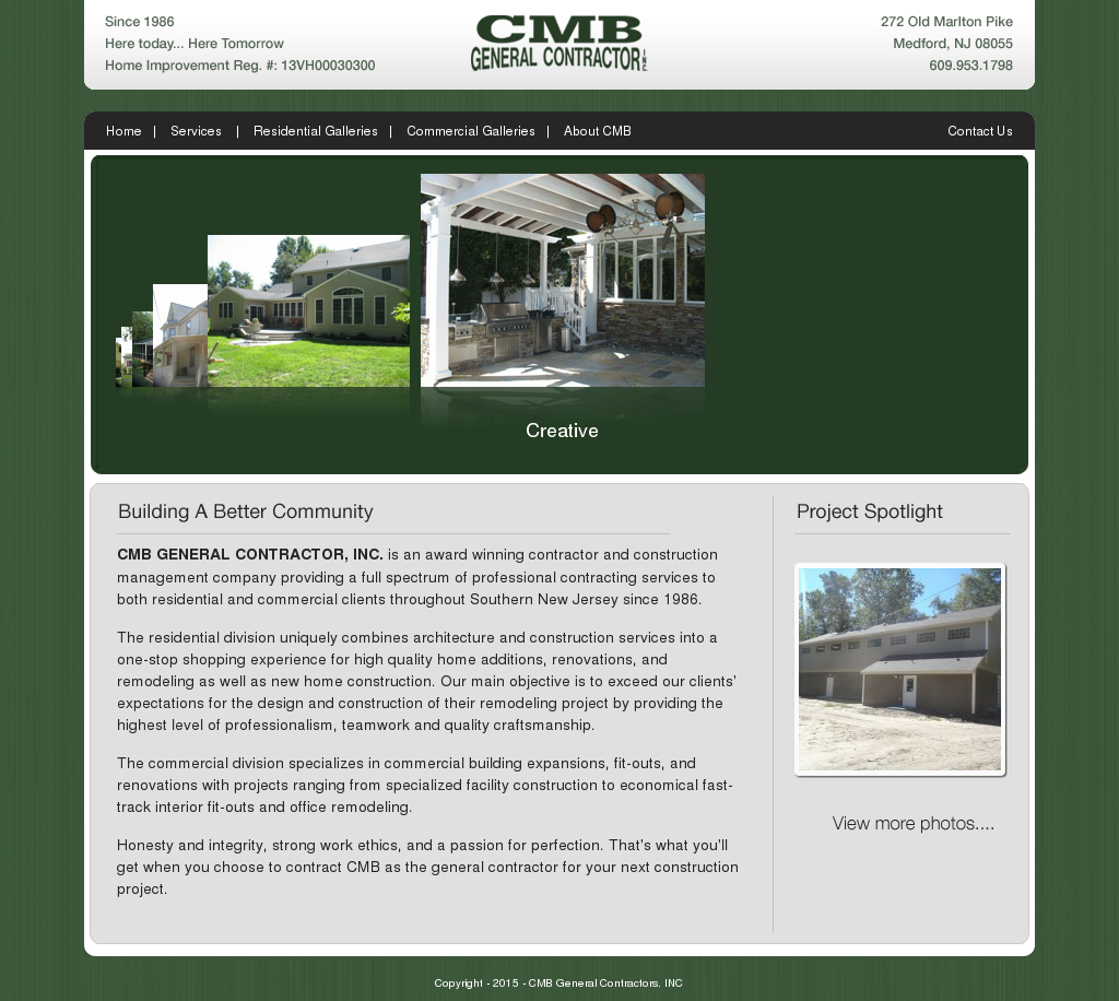 Cmb General Contractors Competitors, Revenue and Employees