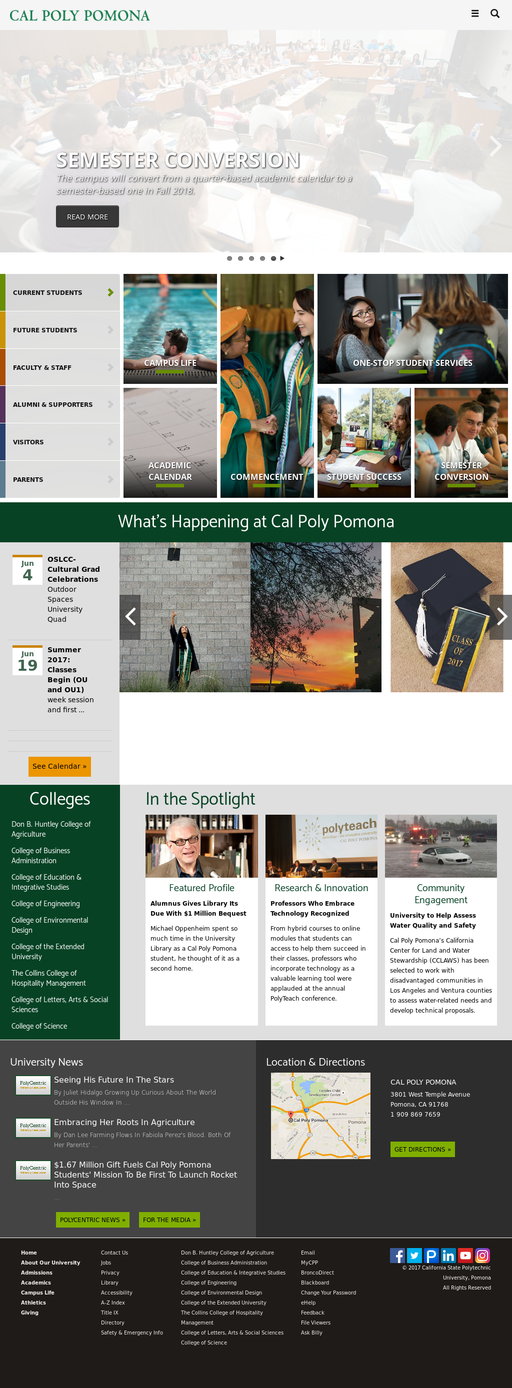 Cal Poly Pomona Academic Calendar.Cal Poly Pomona Competitors Revenue And Employees Owler Company