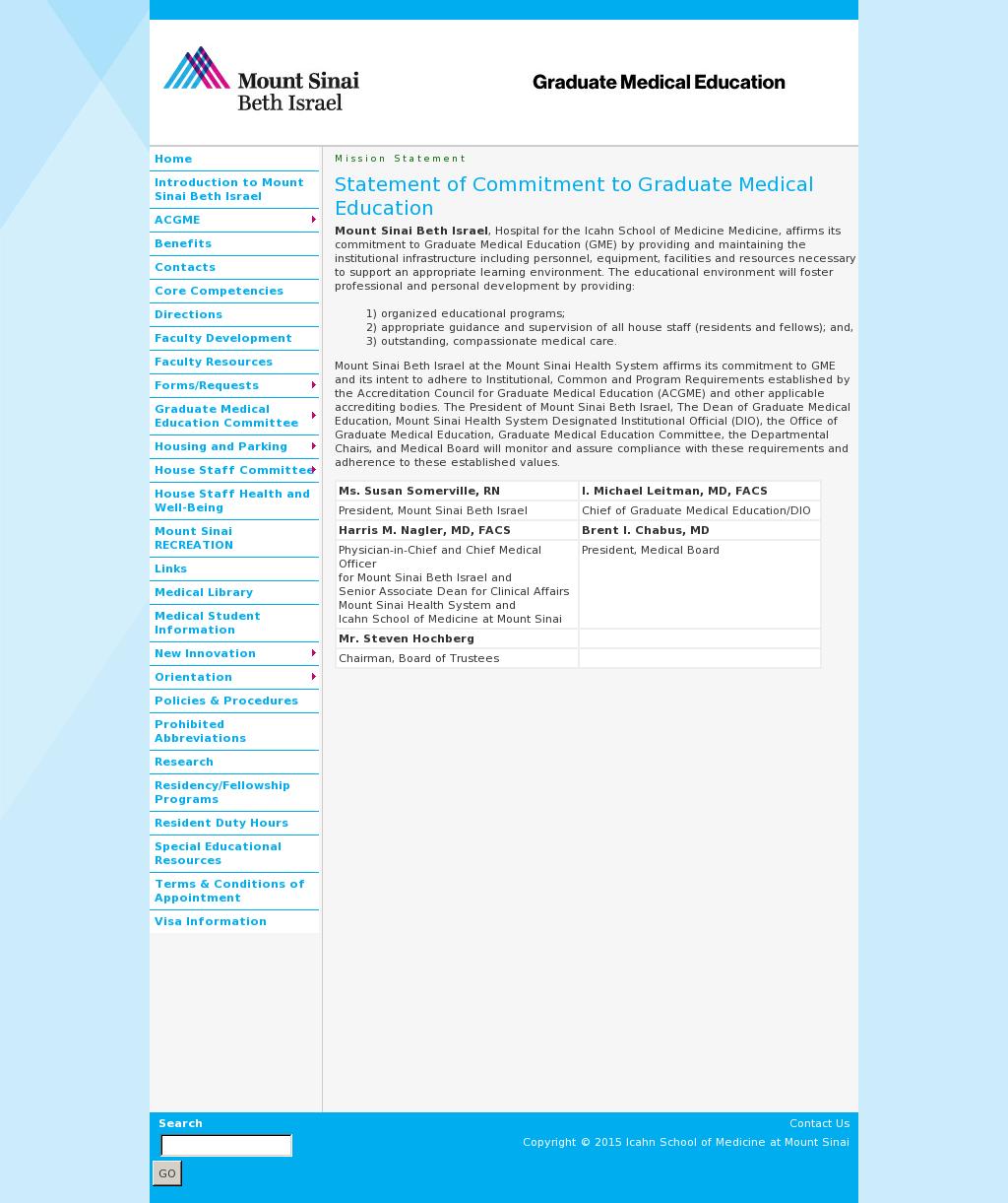 Beth Israel Graduate Medical Education Competitors, Revenue