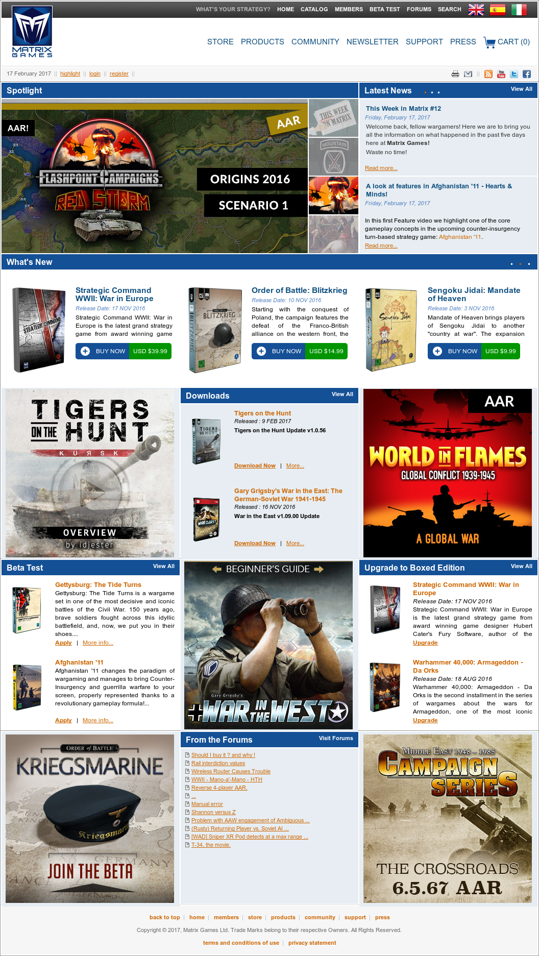 Owler Reports - Matrix Games: Matrix Games to Develop