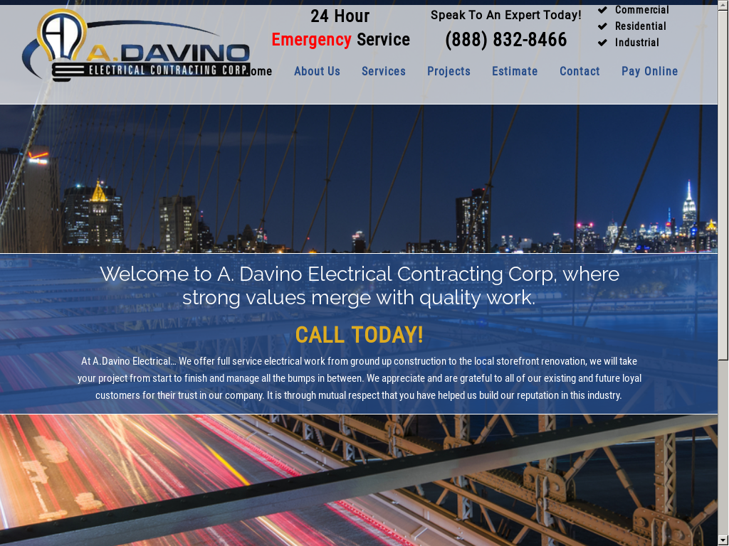 A  Davino Electrical Contracting Competitors, Revenue and
