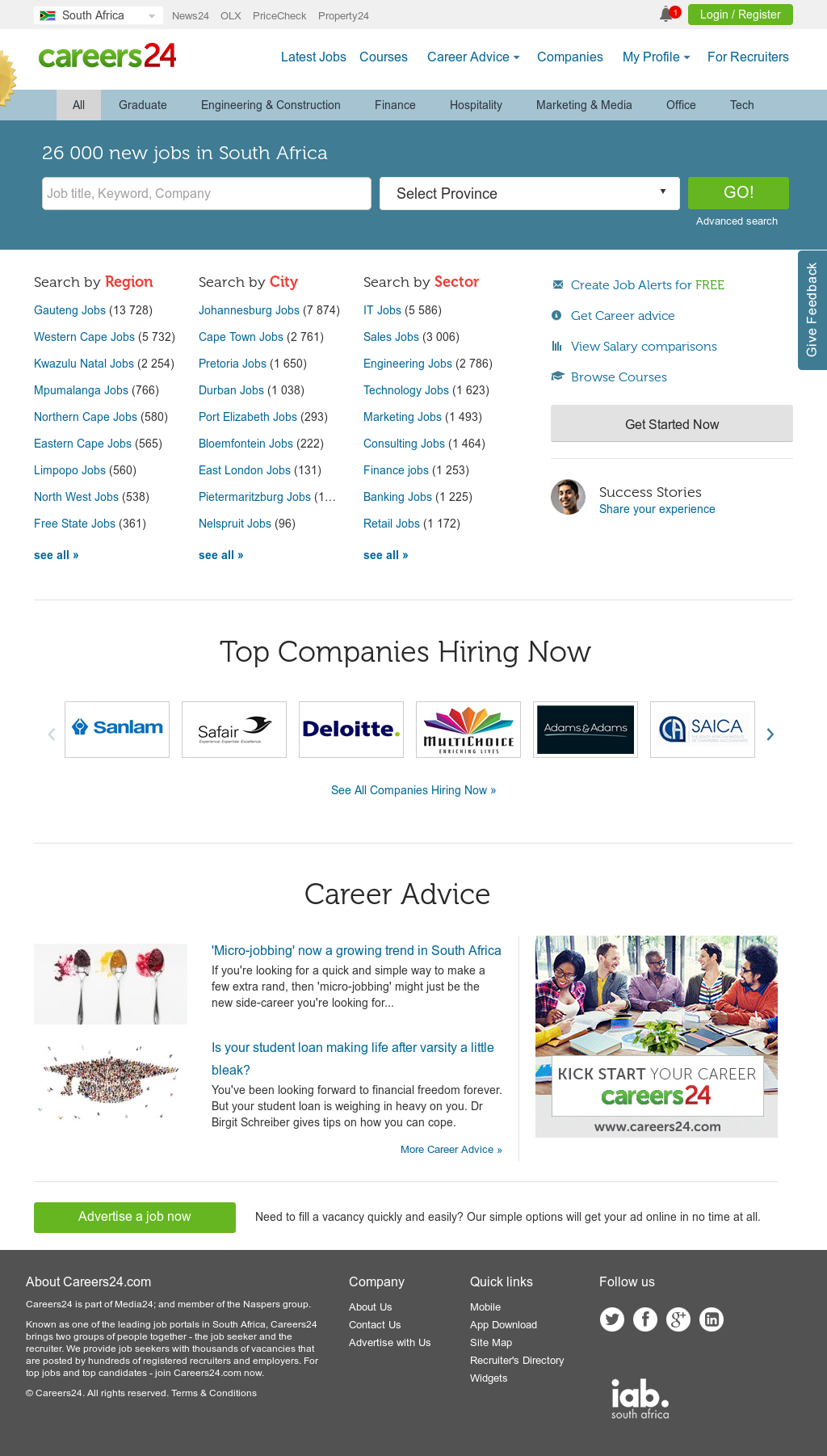 Careers24 Competitors, Revenue and Employees - Owler Company