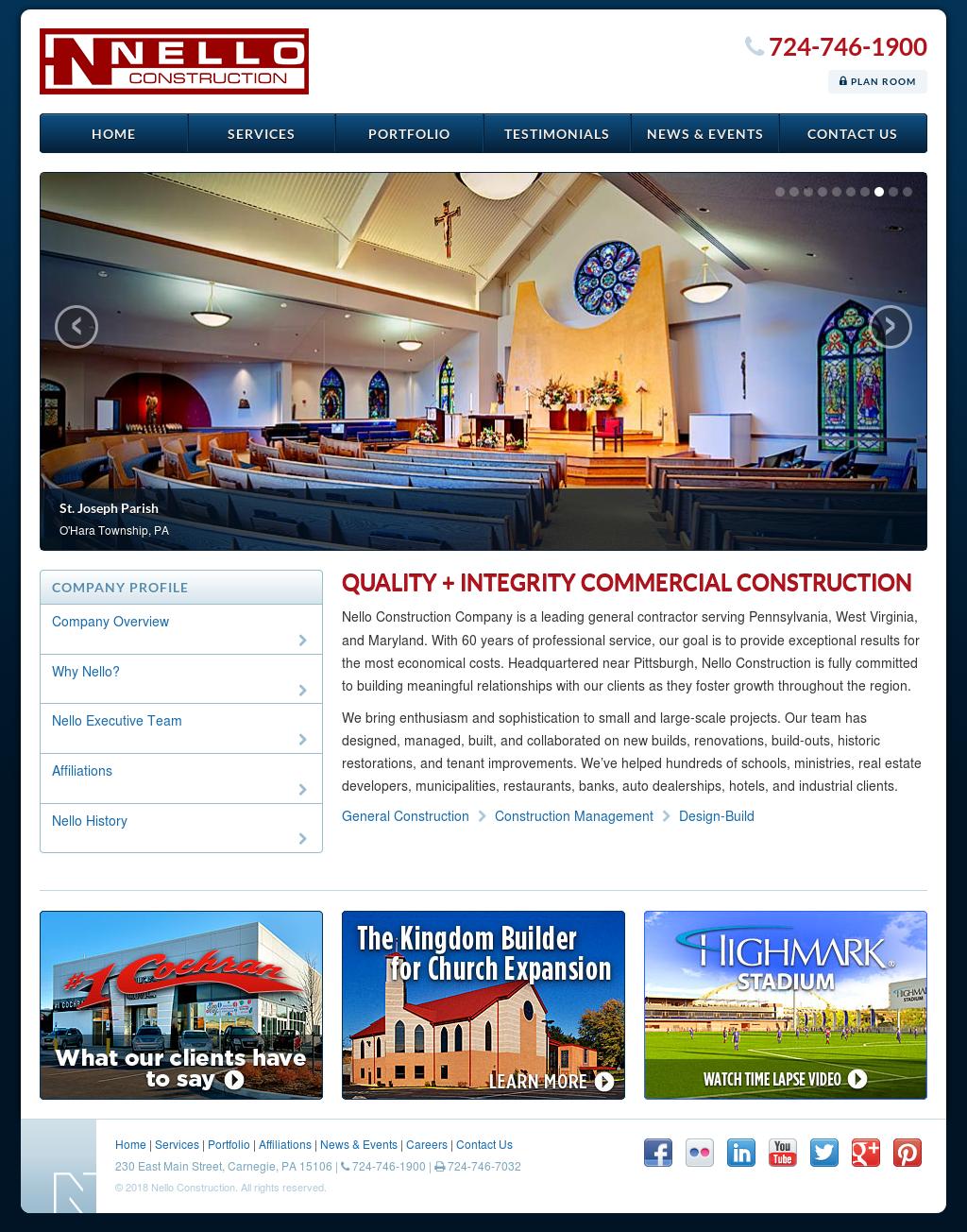 Nello Construction Competitors, Revenue and Employees - Owler