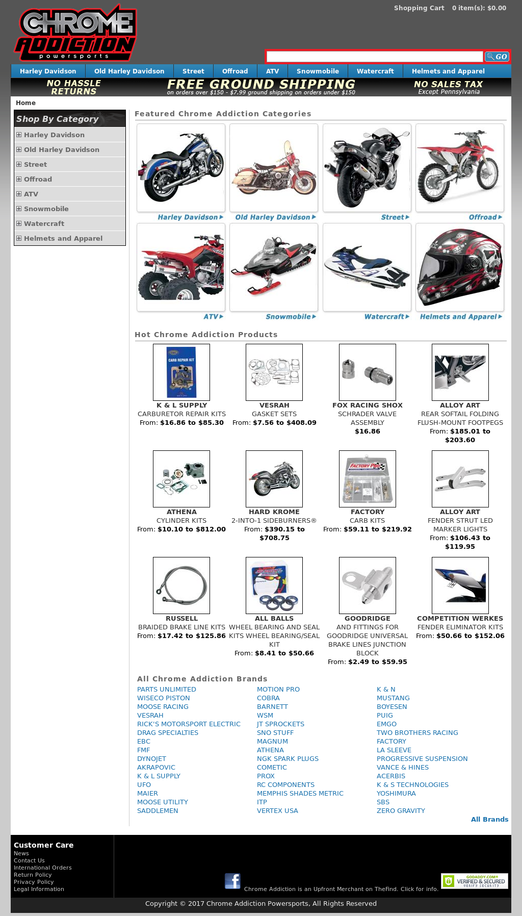 Chrome Addiction Powersports Competitors, Revenue and Employees