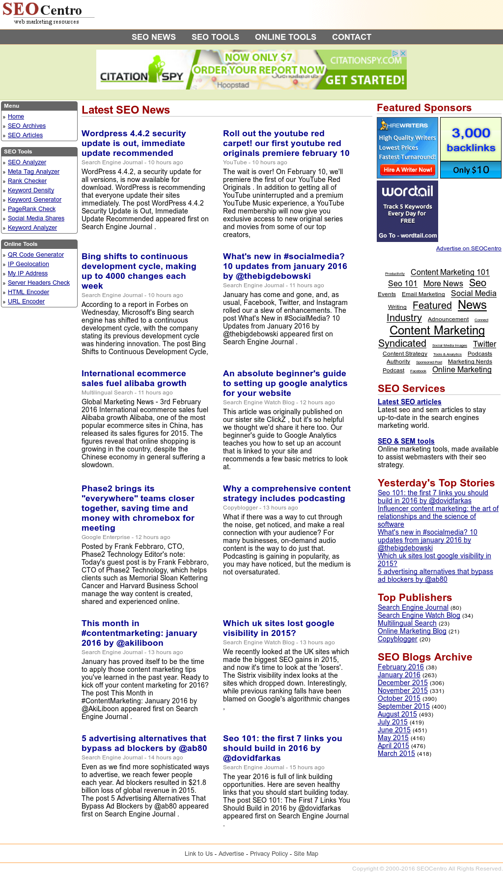 SEOCentro Competitors, Revenue and Employees - Owler Company Profile