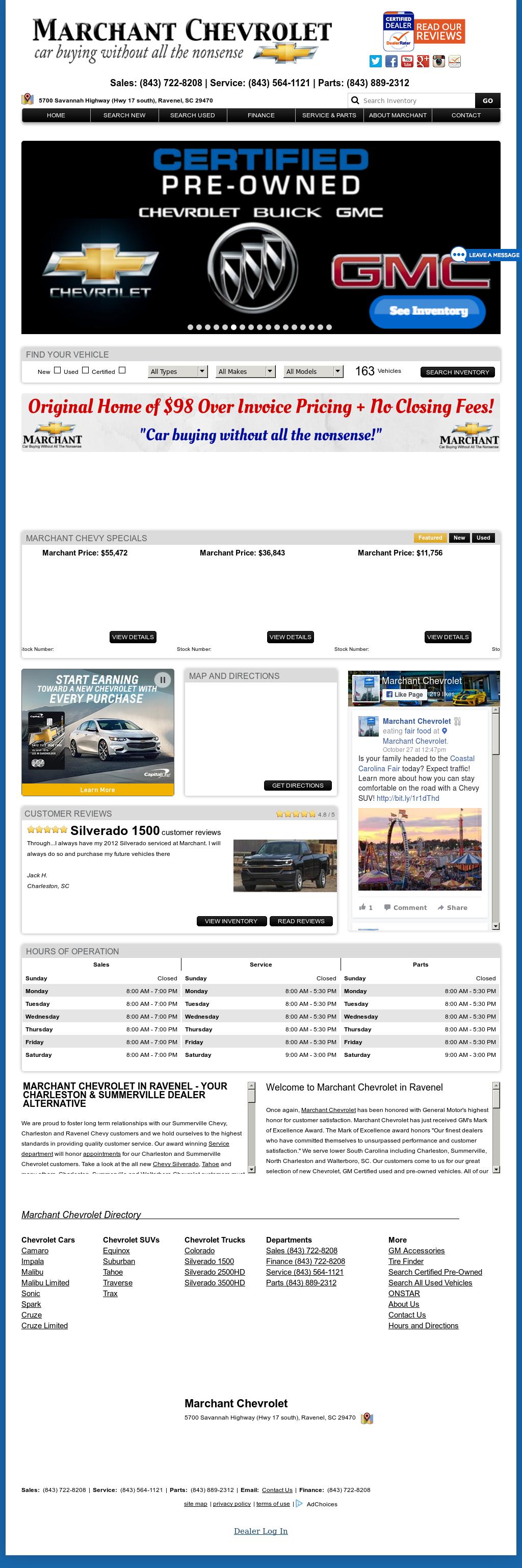 Marchant Chevrolet Car Show