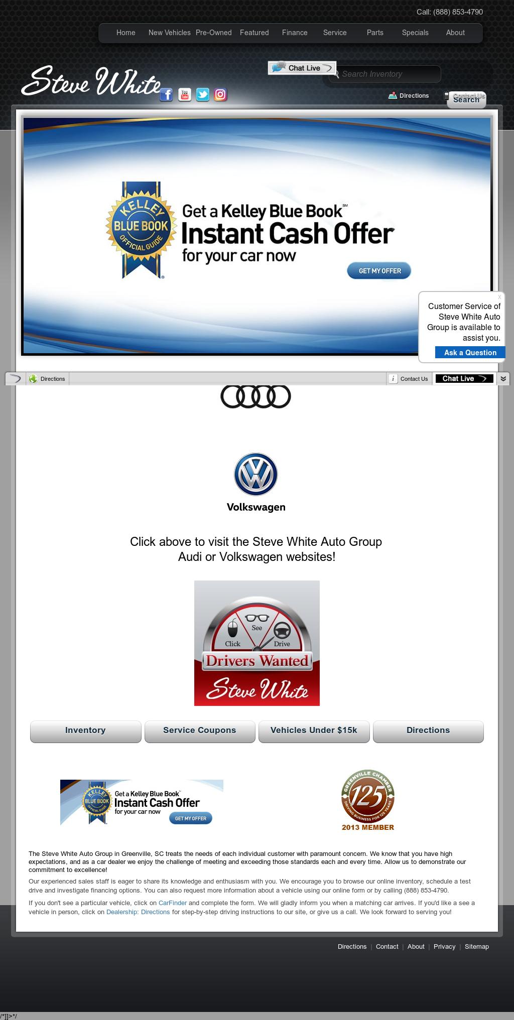 Steve White Vw Audi Competitors Revenue And Employees Owler - Steve white audi