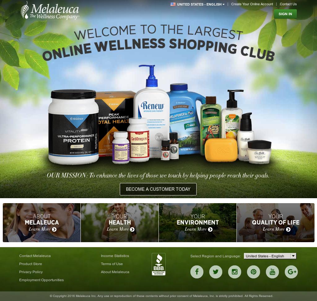 Melaleuca Competitors Revenue And Employees Owler Company Profile