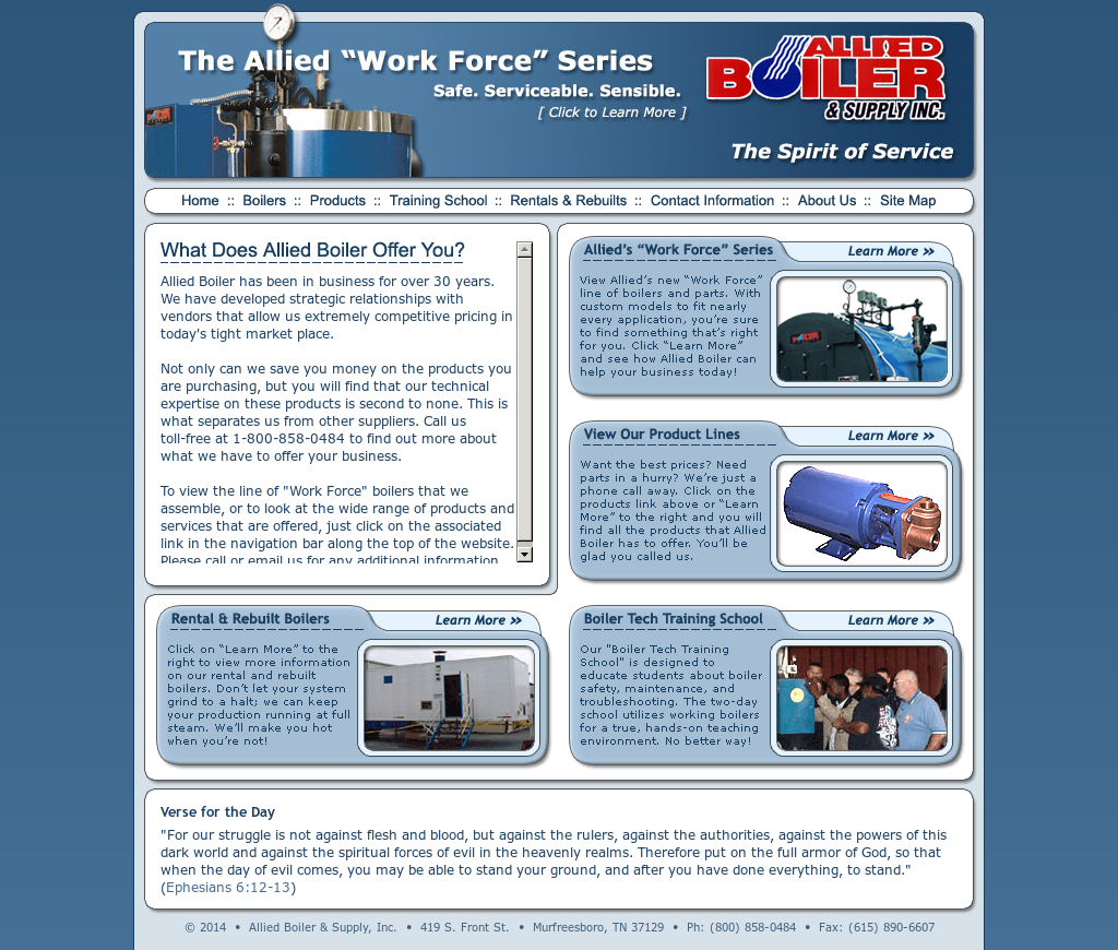 Allied Boiler & Supply Competitors, Revenue and Employees - Owler ...