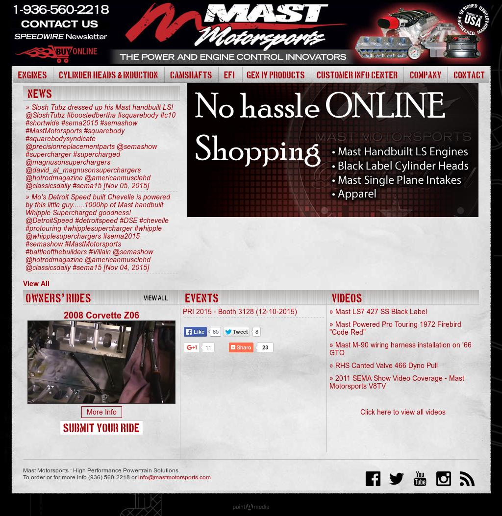 MAST Motorsports LS Conversion Oil Pan