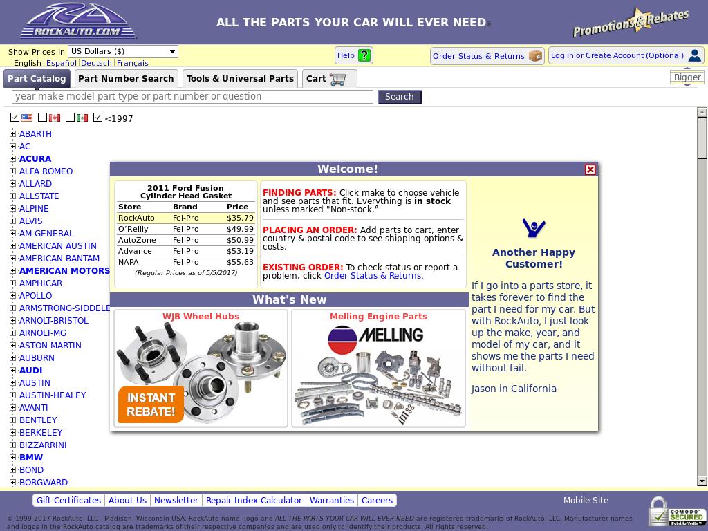 Rockauto Mobile App >> Rockauto Competitors Revenue And Employees Owler Company Profile