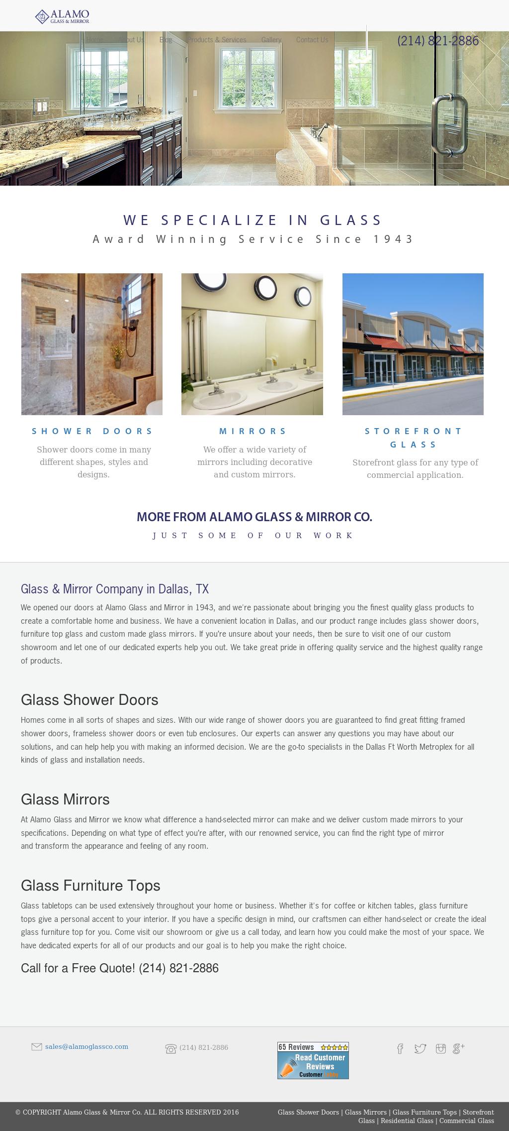 Alamo Gl Mirror Website History