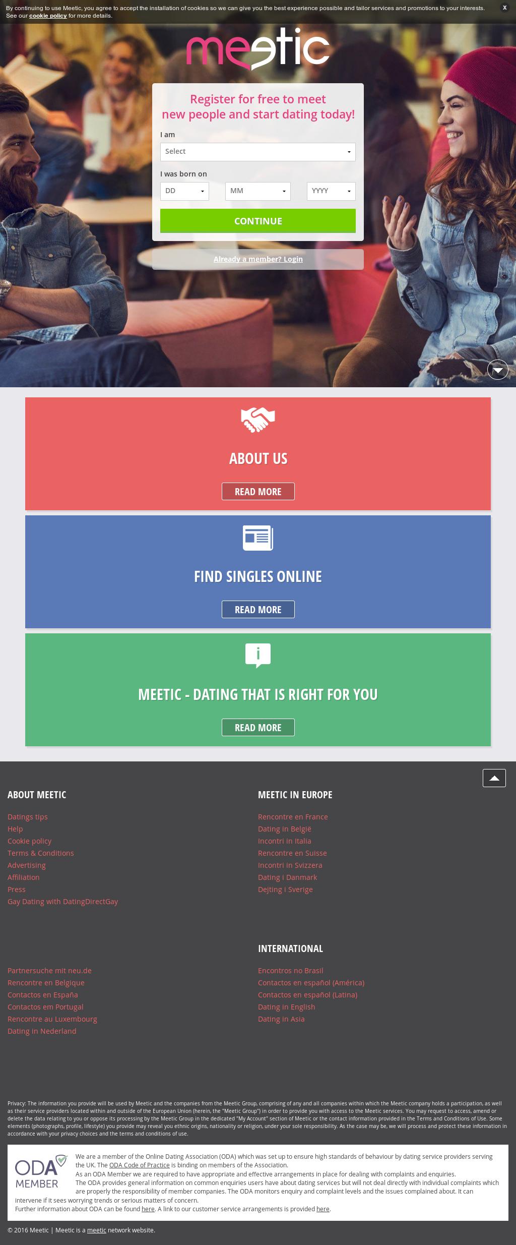 Gay Dating sito Web Brasile