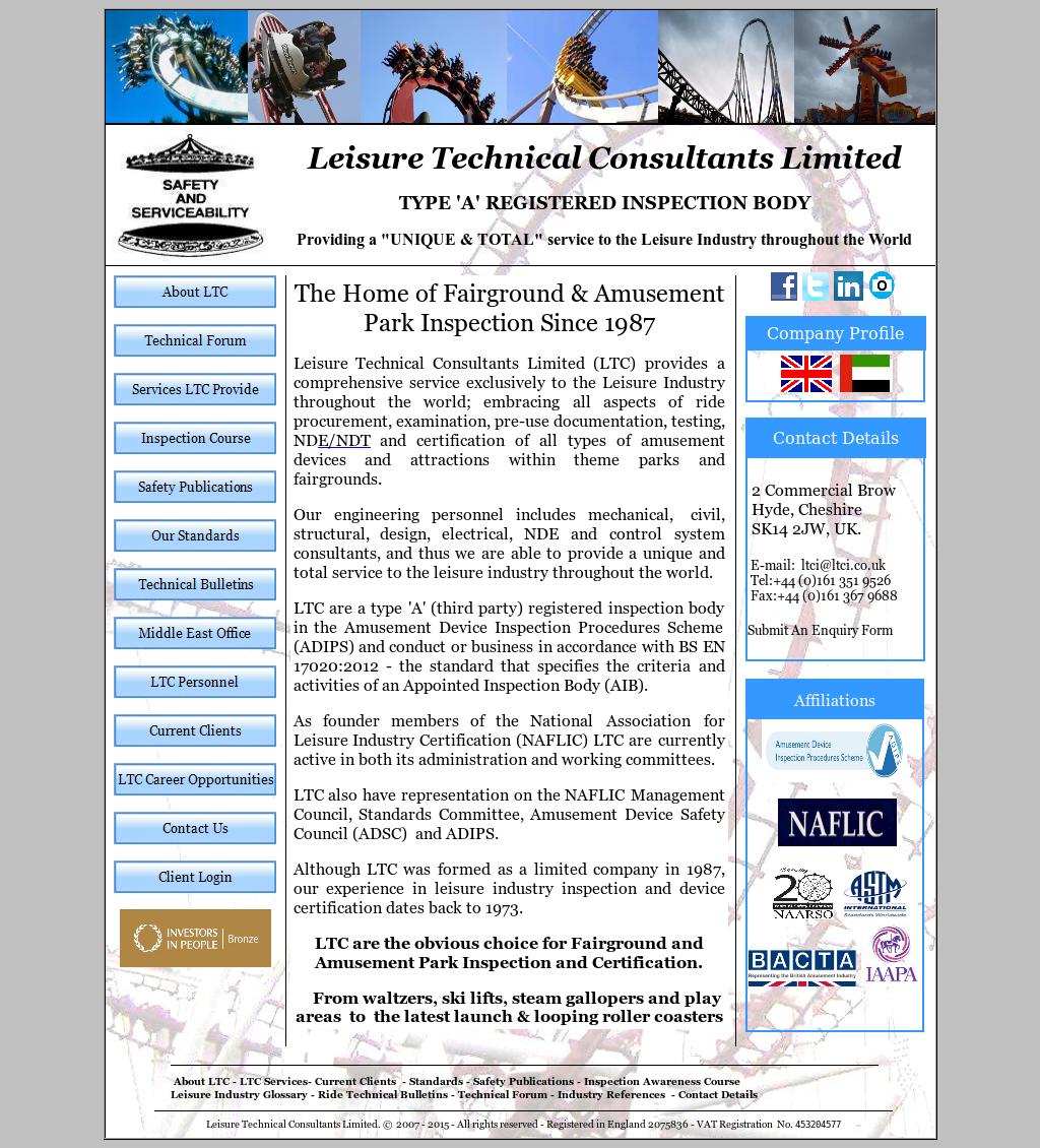 Leisure Technical Consultants Competitors, Revenue and