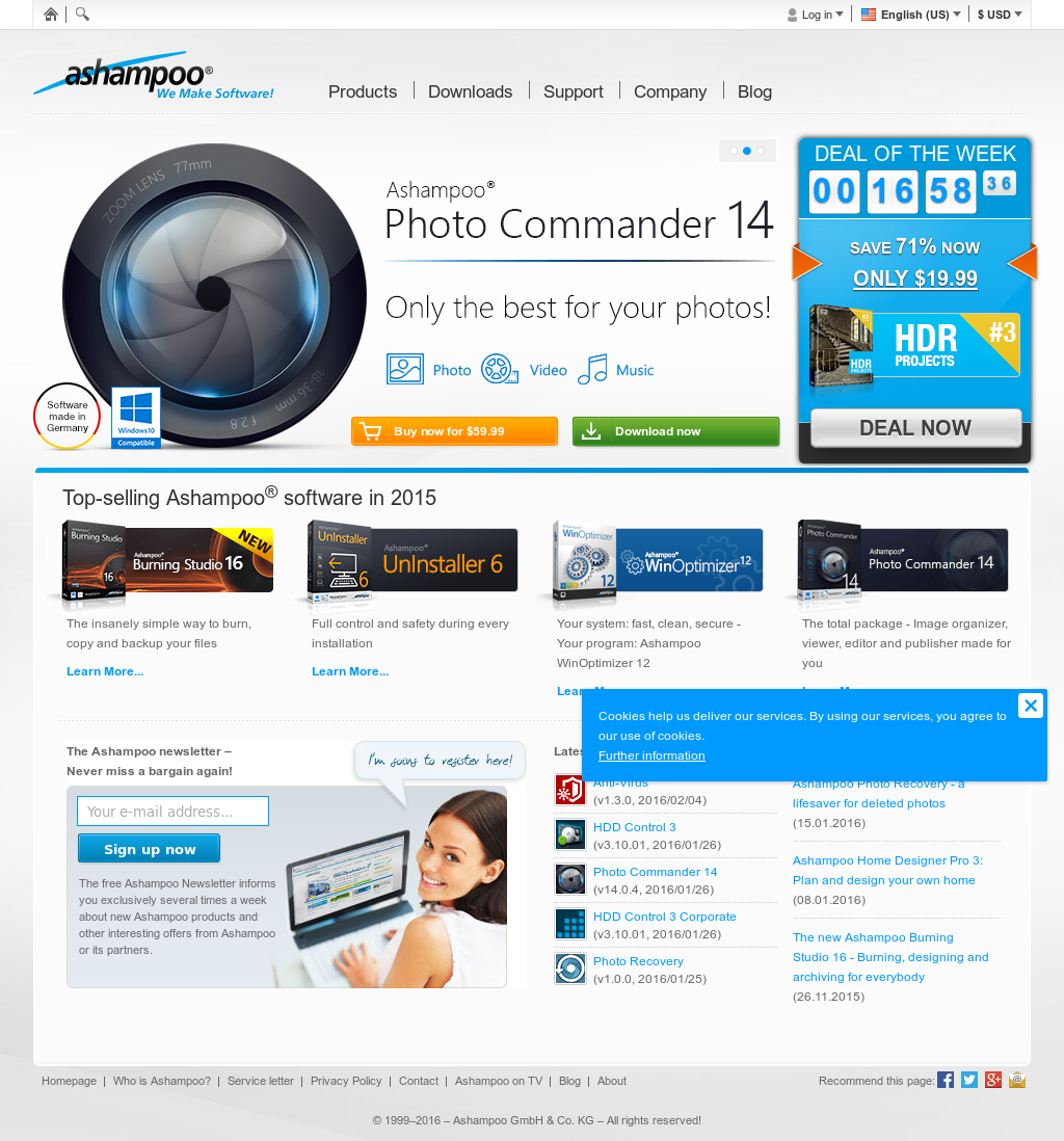 Ashampoo Competitors, Revenue and Employees - Owler Company Profile
