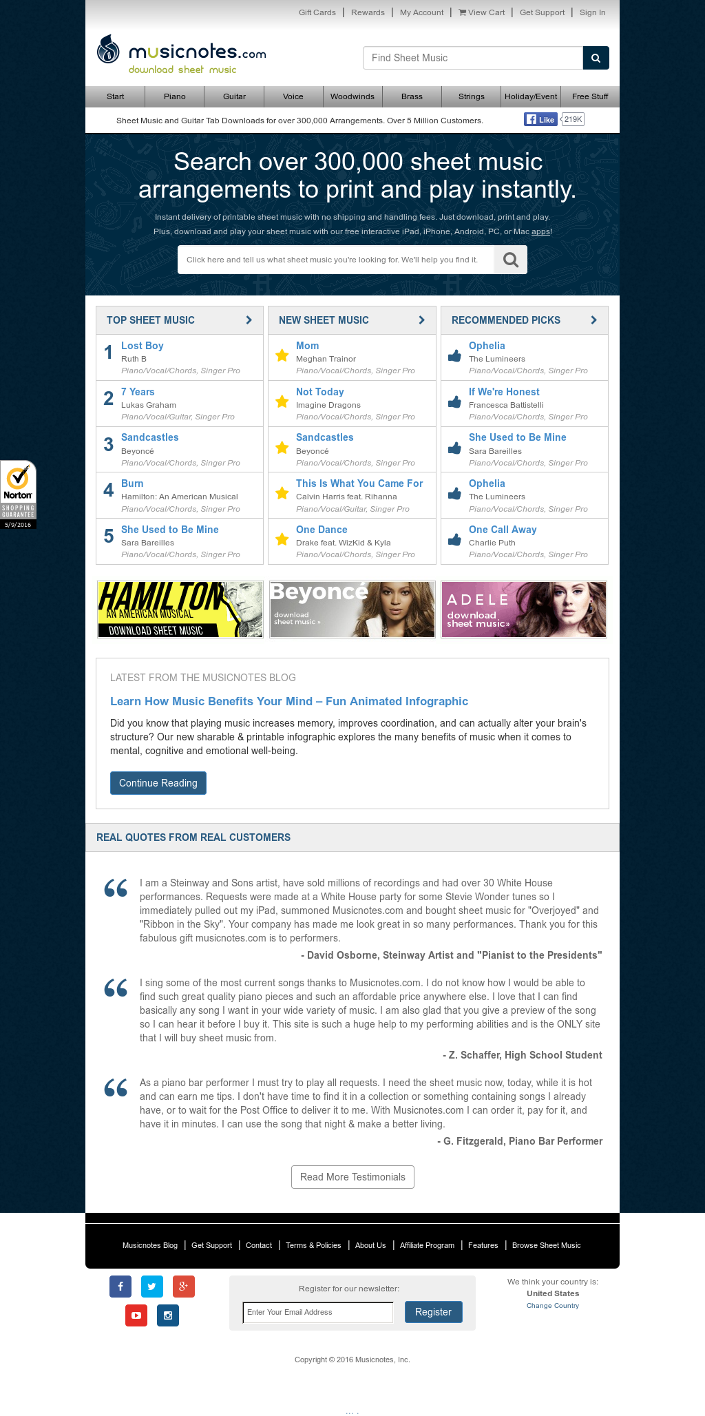 Musicnotes Competitors Revenue And Employees Owler Company Profile