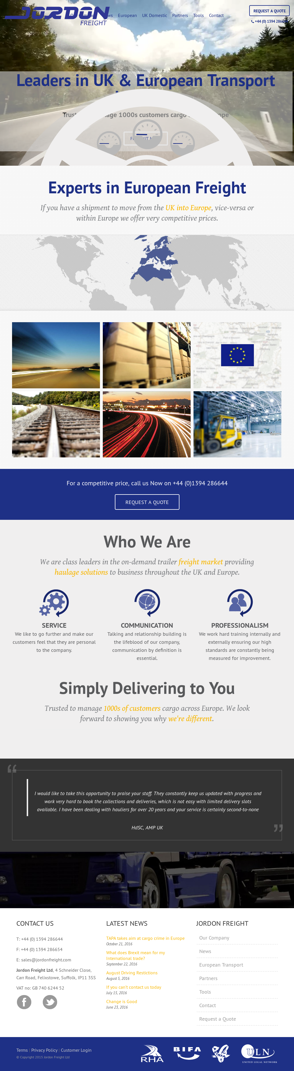 Jordon Freight Competitors, Revenue and Employees - Owler