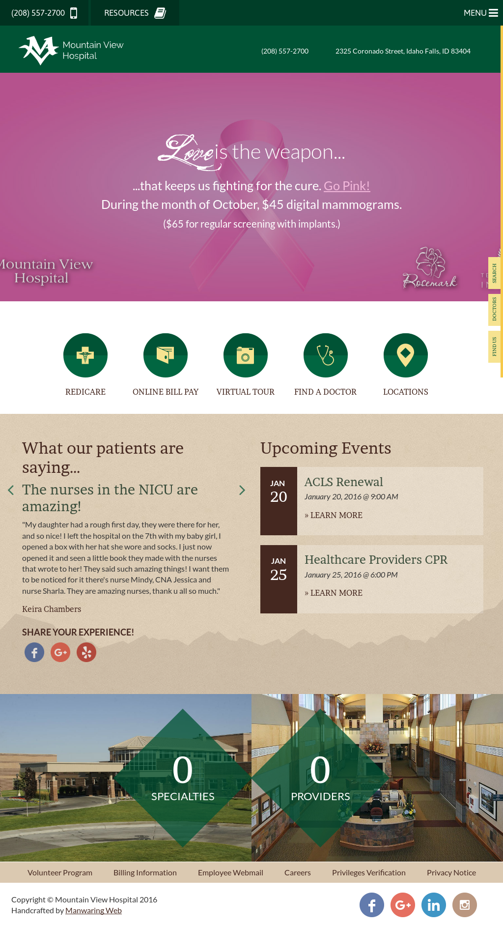 Mountainviewhospital Competitors, Revenue and Employees