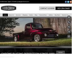 Ogden Chrome Plating & Bumper Competitors, Revenue and Employees