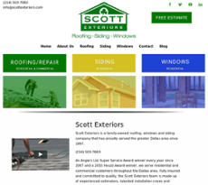 Jun 2017. Jun 2017. Scott Roofing Website History