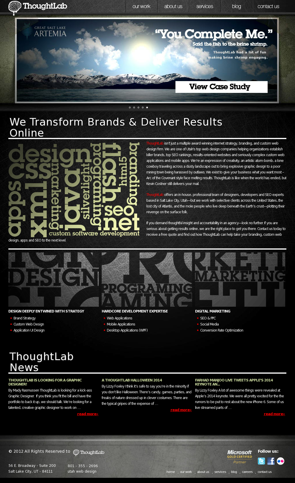 Thought Lab Competitors, Revenue and Employees - Owler