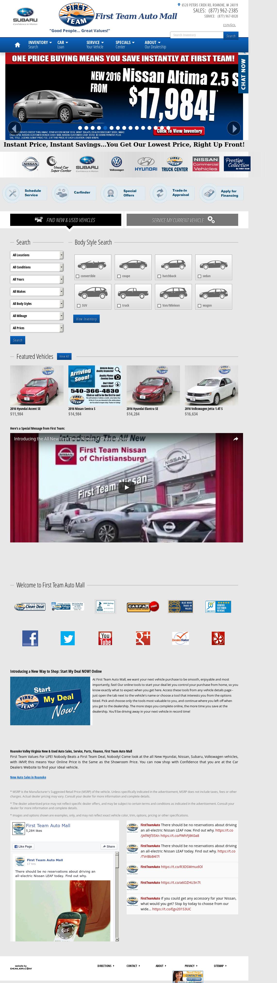 First Team Auto Mall >> First Team Auto Mall Hyundai Competitors Revenue And