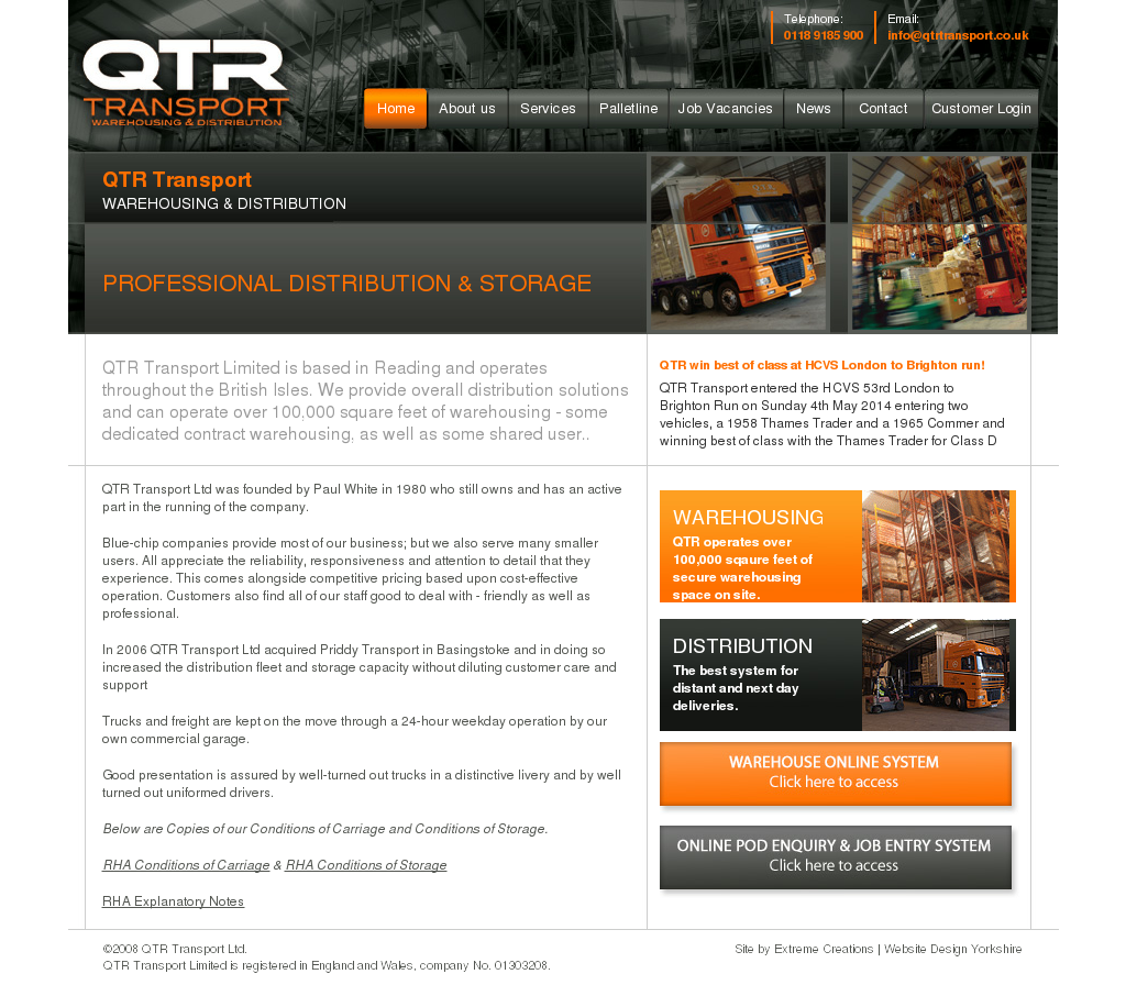 Qtr Transport Competitors, Revenue and Employees - Owler
