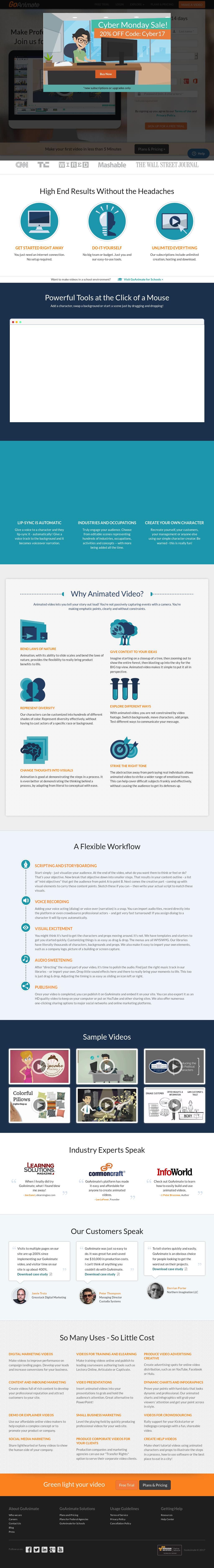 GoAnimate Competitors, Revenue and Employees - Owler Company Profile