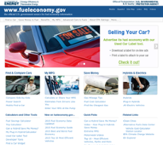 Fuel Economy website history