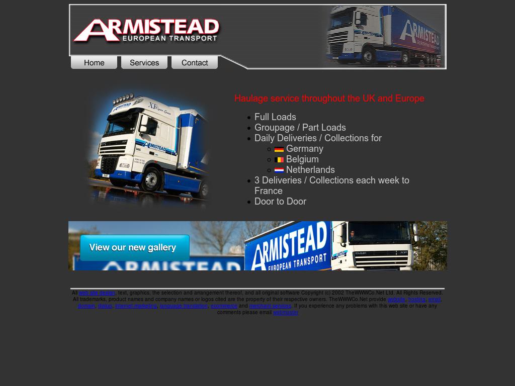 Armistead European Transport Competitors, Revenue and
