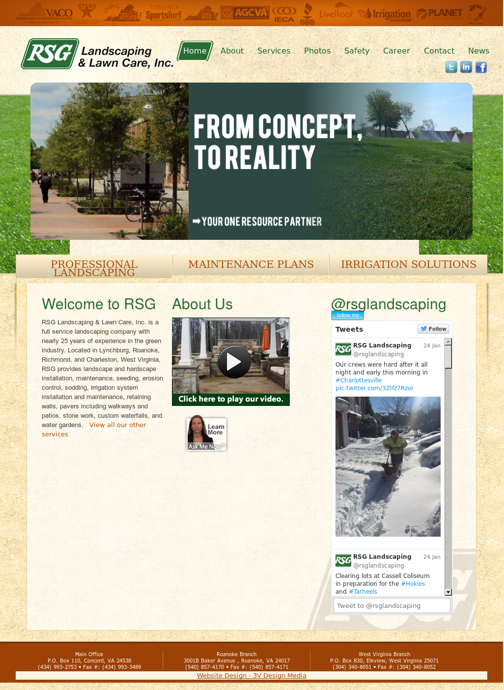 R S G Landscaping Lawn Care Compeors Revenue And Employees Owler Company Profile