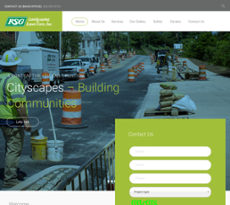 R S G Landscaping Lawn Care Website Screenshot On Sep 2017