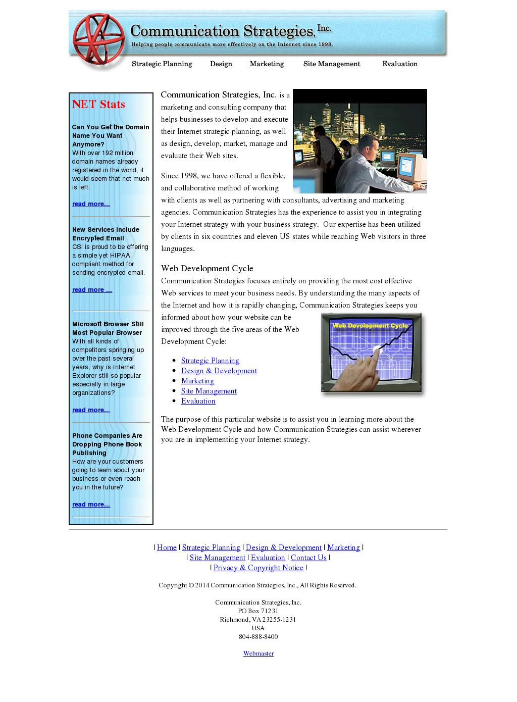 evaluating communication strategies