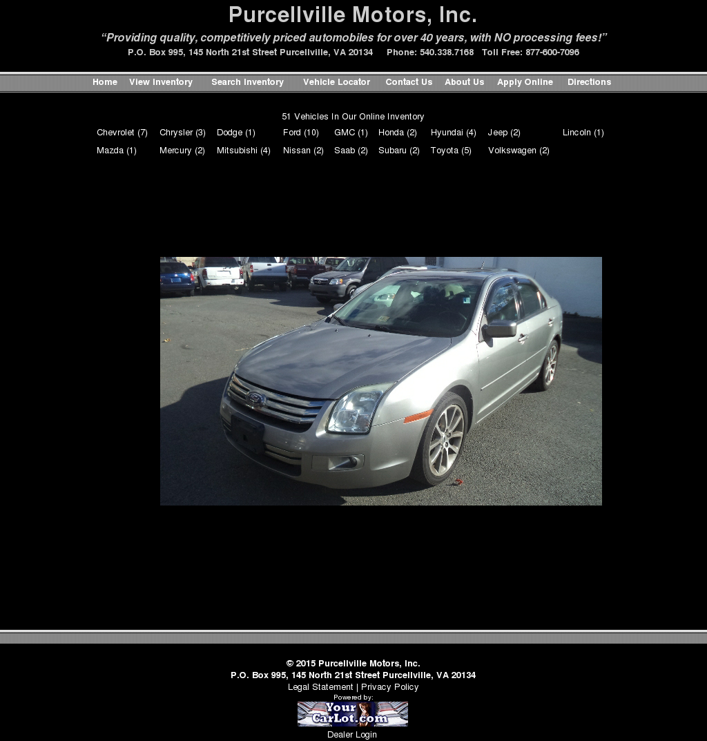 Used Car Dealers In Purcellville Va