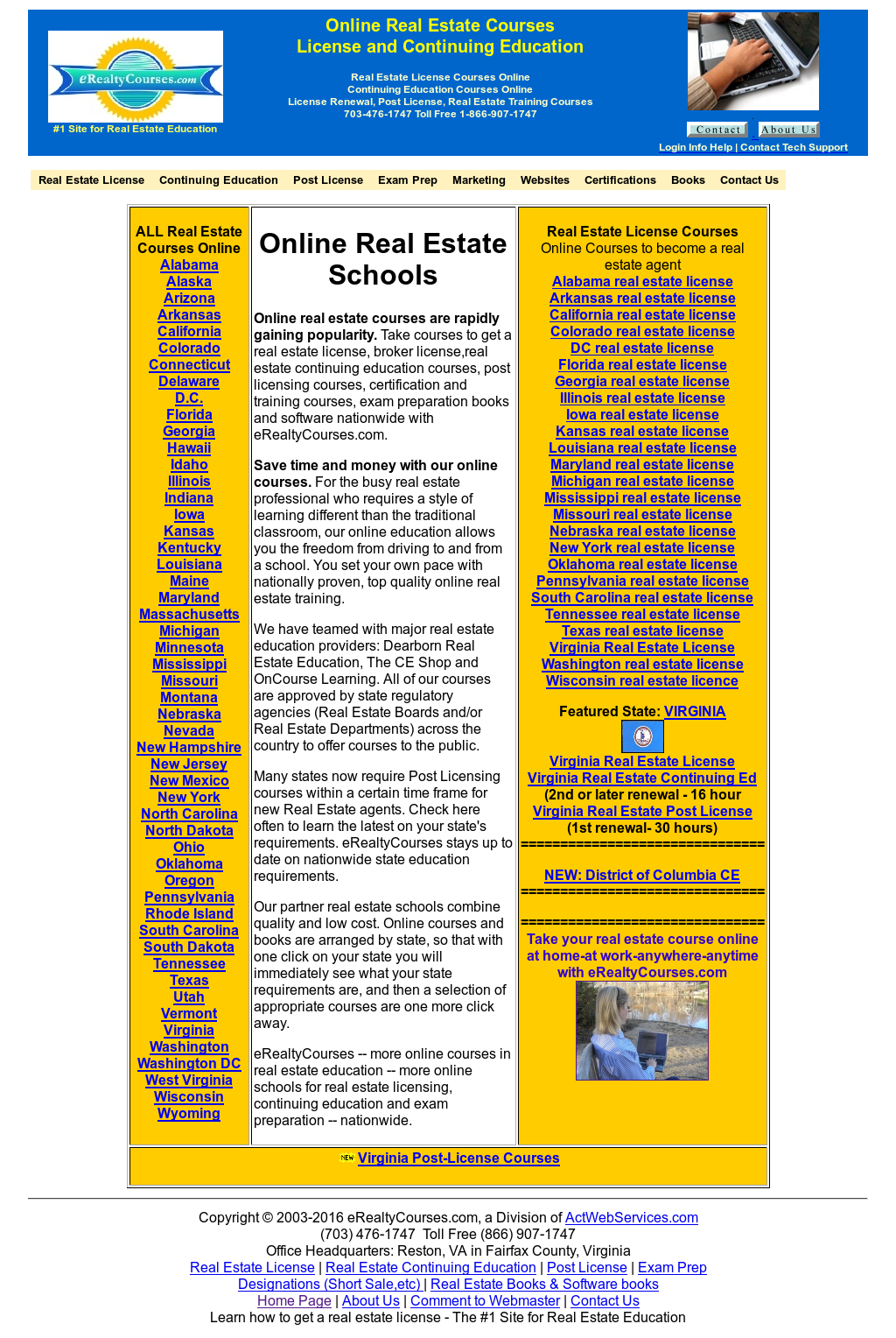 Online Real Estate Courses Competitors, Revenue and
