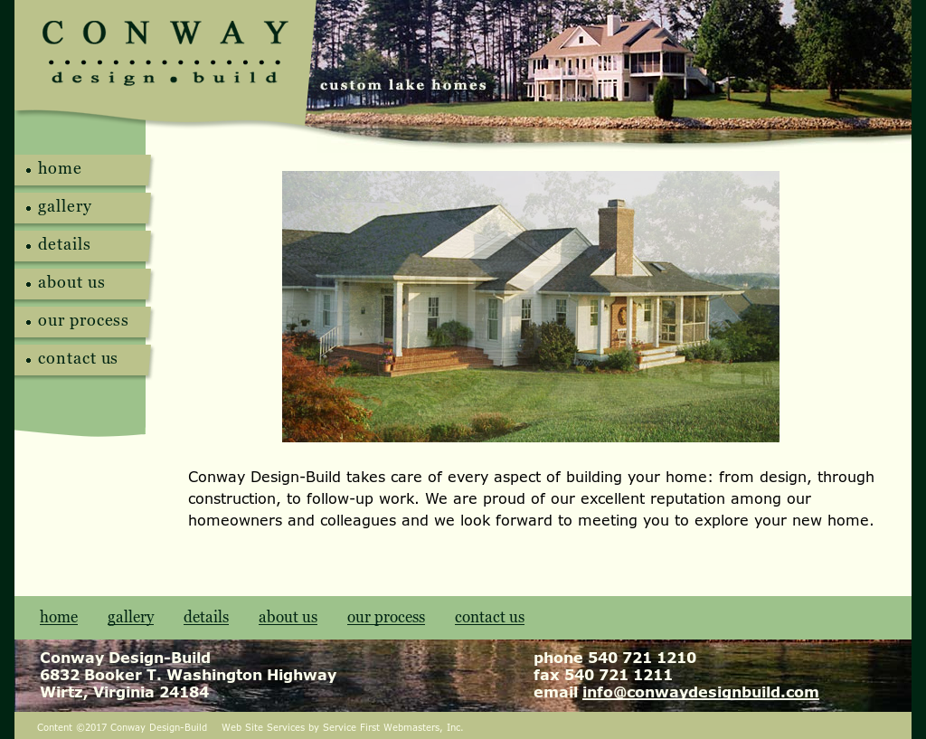 Conway design build competitors revenue and employees for Design build companies