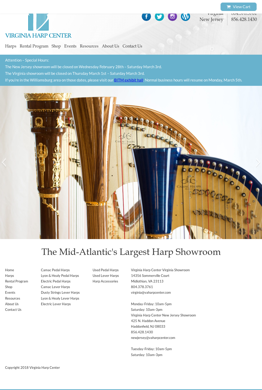 Virginia Harp Center Competitors, Revenue and Employees - Owler