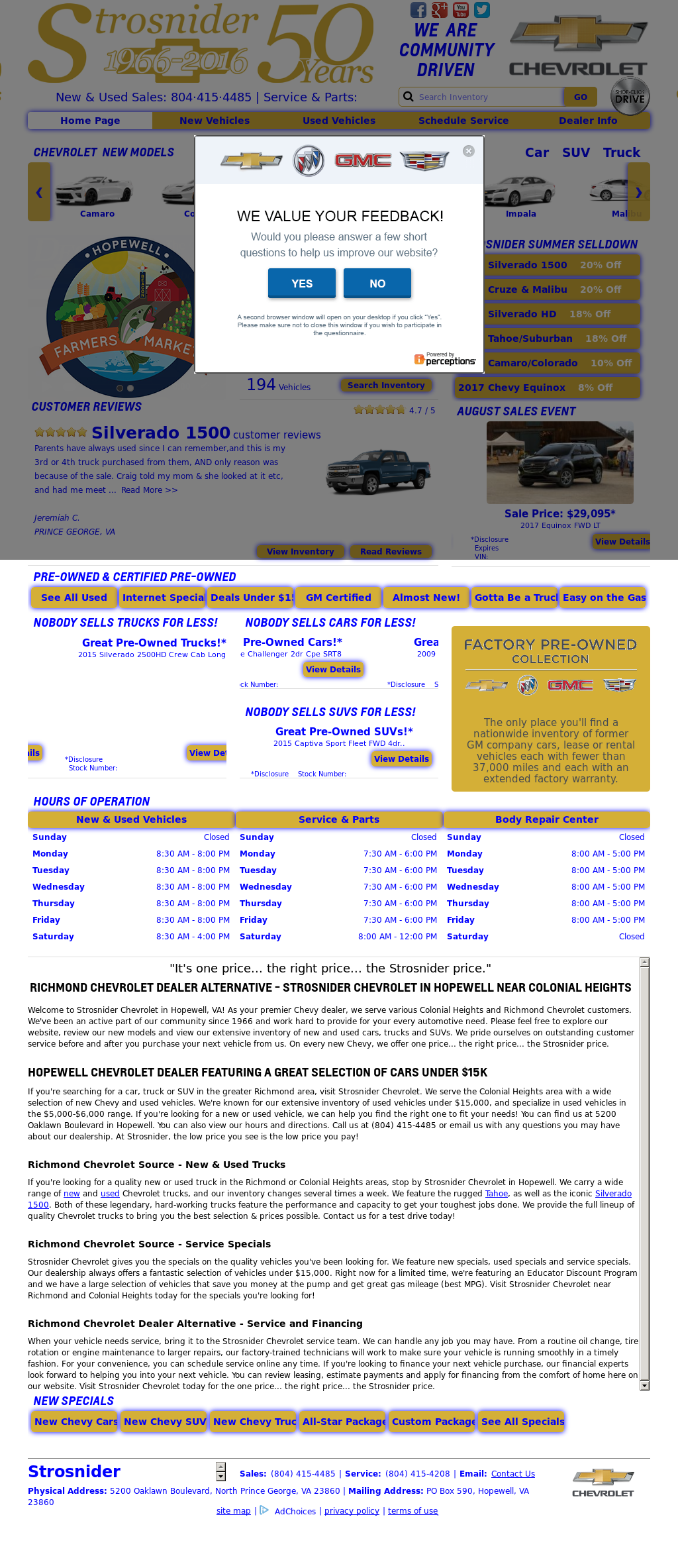 Strosnider Chevrolet Competitors Revenue And Employees Owler Company Profile