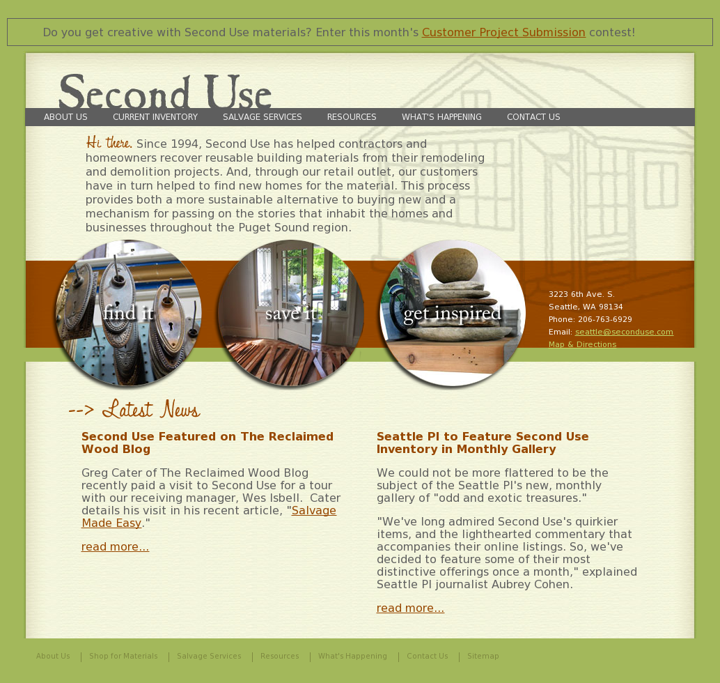 Second Use Seattle >> Second Use Building Materials Competitors Revenue And