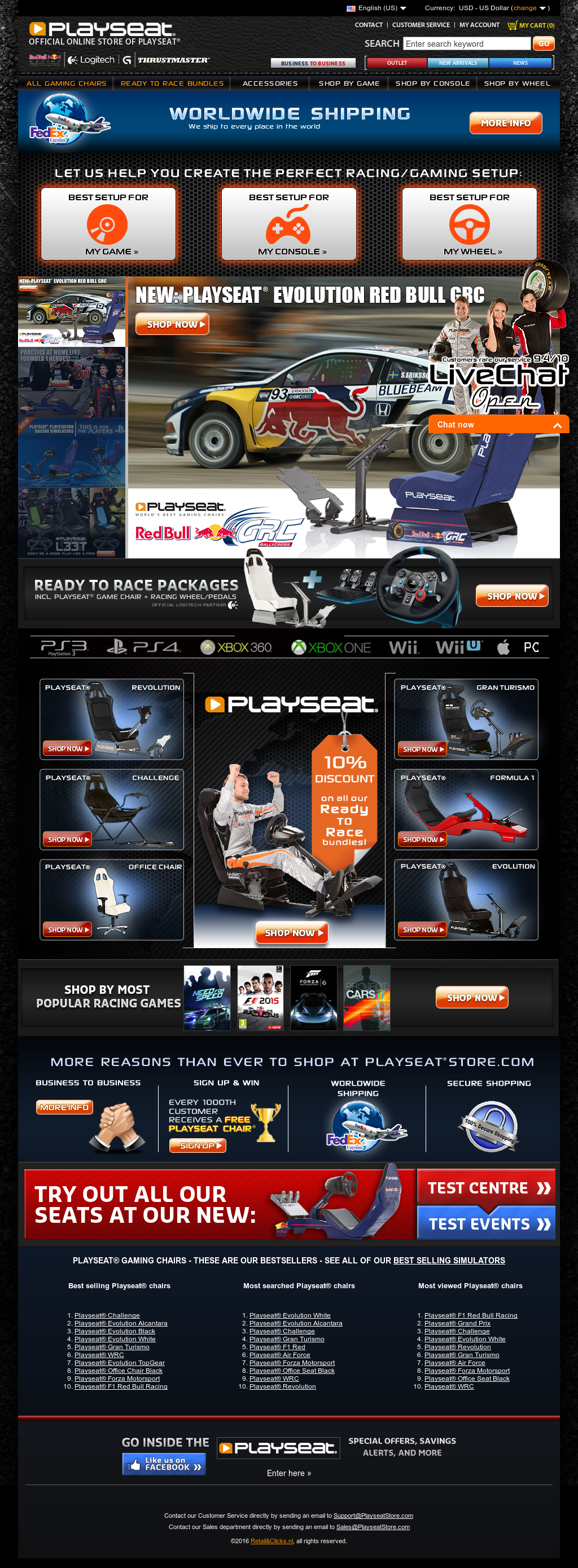 Playseats Competitors, Revenue and Employees - Owler Company