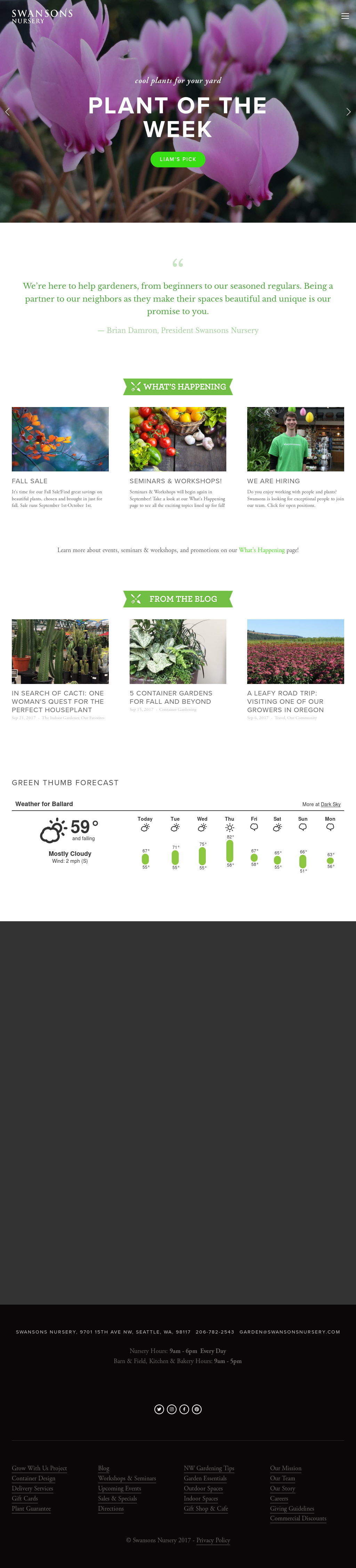 Swanson S Nursery Compeors Revenue And Employees Owler Company Profile