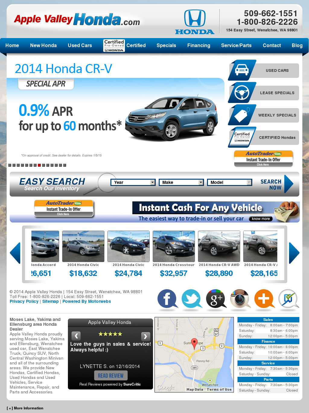 Apple Valley Honda Competitors, Revenue And Employees   Owler Company  Profile