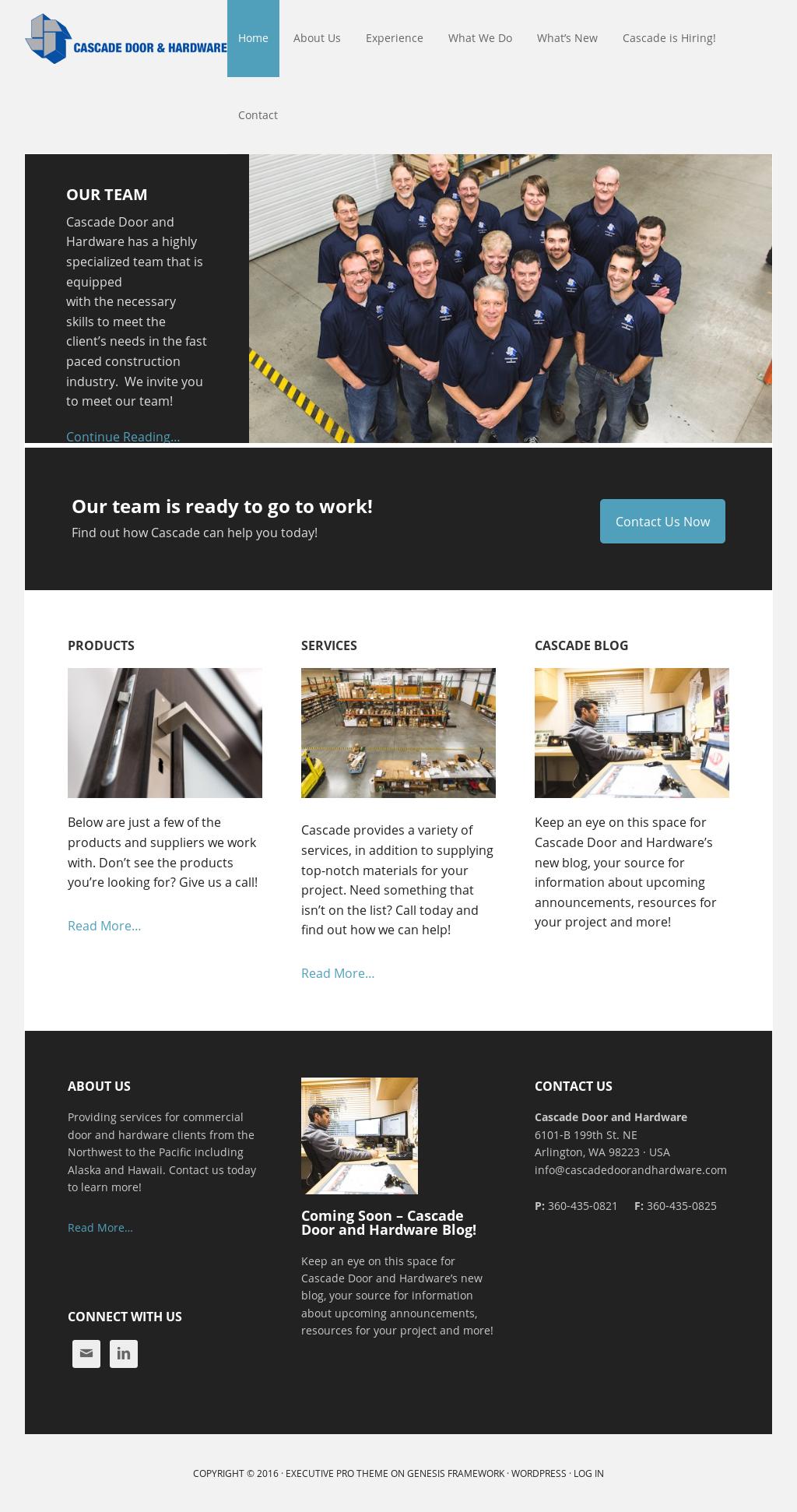 Cascade Door \u0026 Hardware website history & Cascade Door \u0026 Hardware Competitors Revenue and Employees - Owler ...