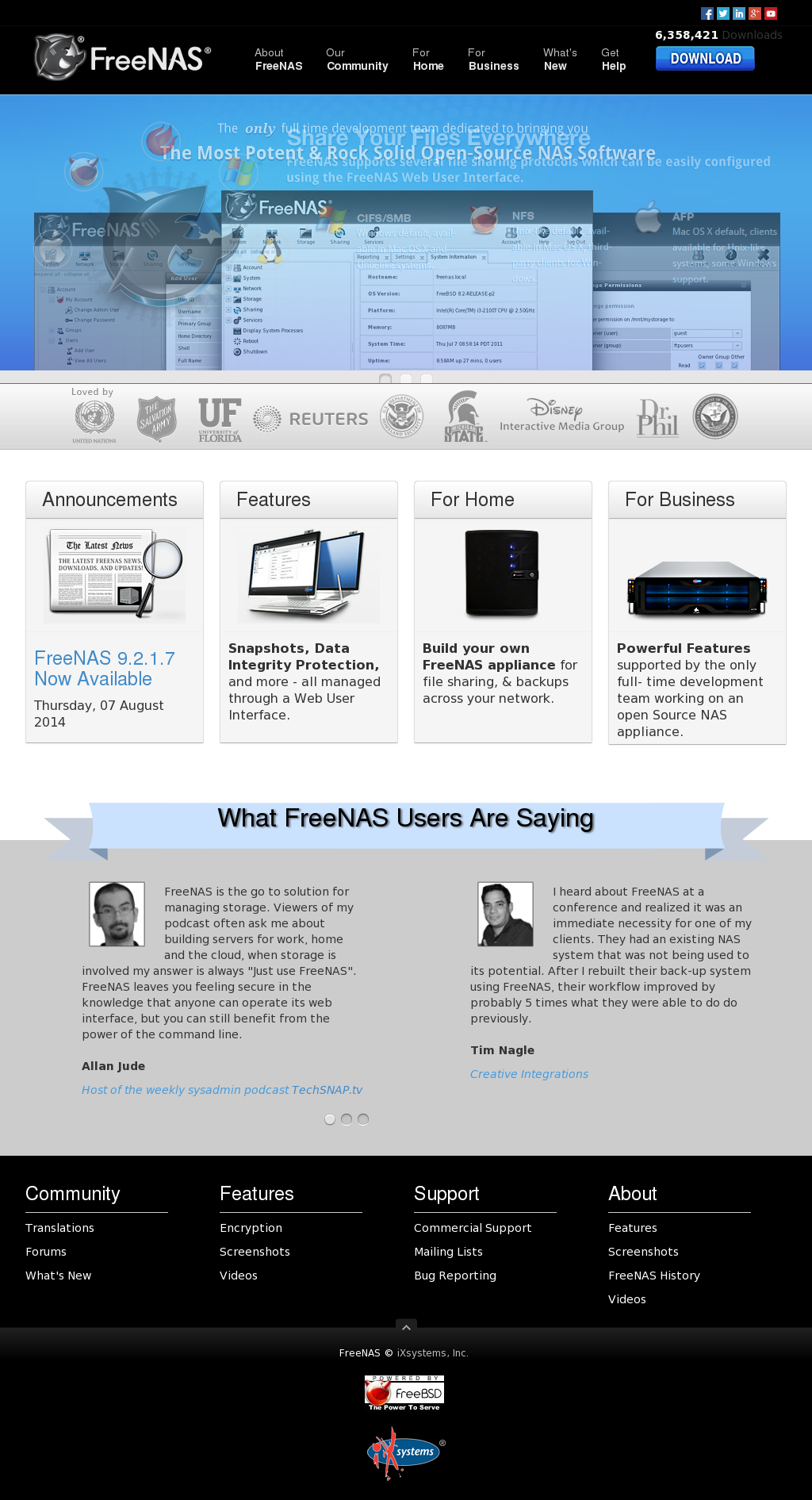 FreeNAS Competitors, Revenue and Employees - Owler Company Profile