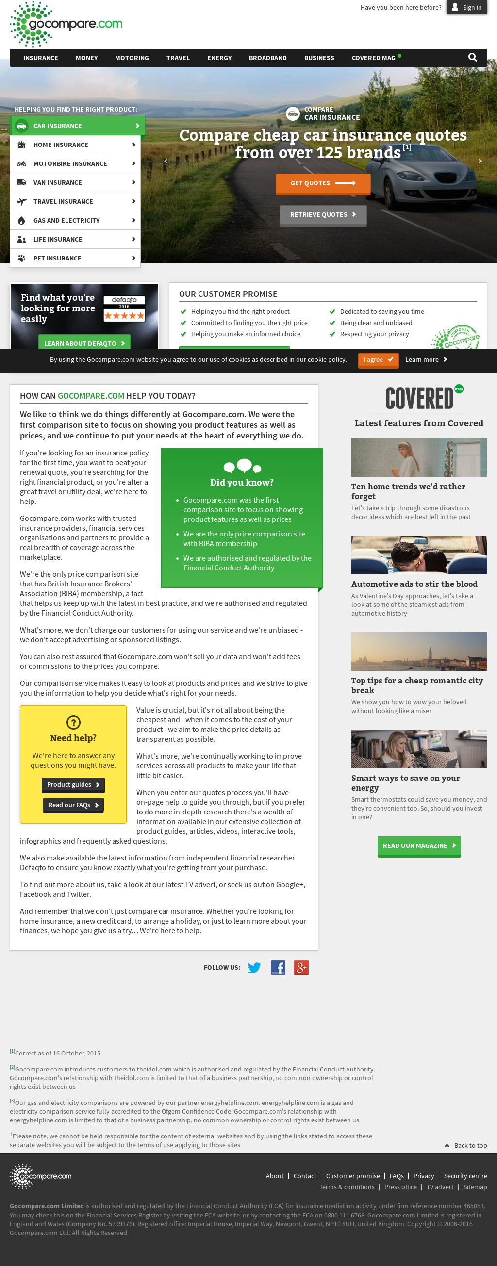 Gocompare Competitors Revenue And Employees Owler Company Profile