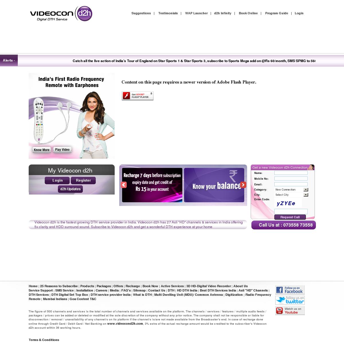 Videocon d2h Competitors, Revenue and Employees - Owler Company Profile