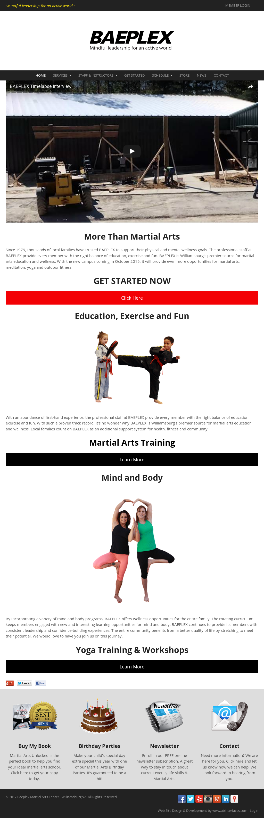 arts fitness quality of life program